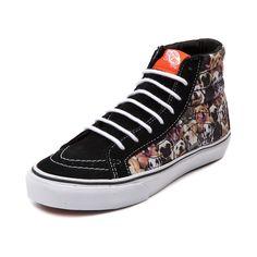 47e91d18db Vans x ASPCA Sk8 Hi Slim Dogs Skate Shoe Journey Store
