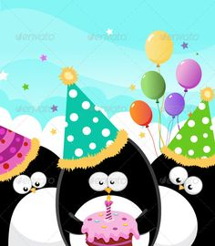 Happy Birthday — Vector EPS #flame #cute • Available here → https://graphicriver.net/item/happy-birthday/1144973?ref=pxcr