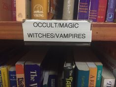 """""""I'm a Goth... Of course i know where the occult books are!"""" - Kimi"""