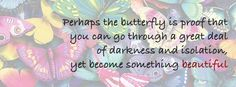 We often find strong connotations to the butterfly, and for obvious reasons X