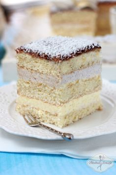 Holiday Desserts, No Bake Desserts, Delicious Desserts, Polish Desserts, Polish Recipes, Polish Cake Recipe, Baking Recipes, Cake Recipes, How Sweet Eats