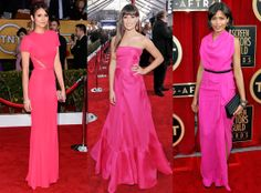 pink outfits | ... Dobrev, Lea Michele and Freida Pinto are Pretty in Pink | E! Online
