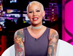 """Amber Rose is telling ALL her personal business on her new VH1 talk show — including her bedroom antics with ex-husband Wiz Khalifa. On Friday's episode of 'The Amber Rose Show,' Amber toldthe audience what it was like attending Wiz & Snoops's concert in North Carolina. """"I'm actually still high,"""" she joked. """"I don't even..."""