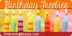 Huge list of Birthday Freebies for you and the kiddos! Zaxby's free meal on kids birthday!!!