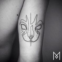 Neue Single-Line-Tattoos und feines Dotwork von Mo Ganji - detailverliebt.de