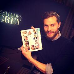 Jamie at the 'Fifty Shades of Grey' London Press Junket.