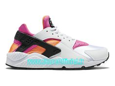 Nike Wmns Air Huarache GS - Women´s/Girls´ Nike Sportswear Shoe White Pink