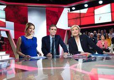 Audiences-France 2 : Marine Le Pen fait mieux que tous les autres