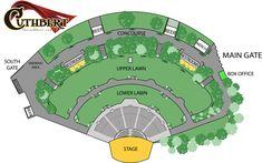19 New Cuthbert Amphitheater Seating Chart