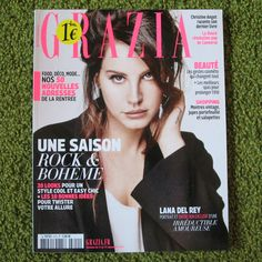Lana Del Rey - Grazia France magazine 2015 brand new Honeymoon