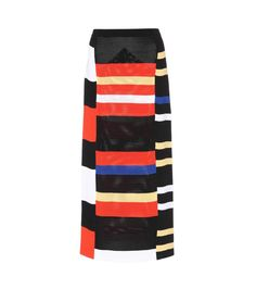 PROENZA SCHOULER - Knitted skirt - Proenza Schouler's knitted midi skirt reminds us of Mondrian's artworks, 1970s design and is unmistakably contemporary. The design sits tightly on the hips, while the colourful geometric print adds a dynamic feel. Show yours off with a simple black turtleneck. - @ www.mytheresa.com