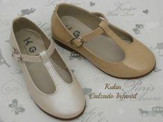 Zapatos salón hebilla Kangurín zapatos niña - calzado infantil