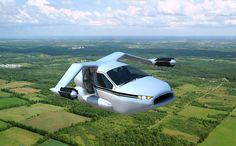 I want it now!!!!  Terrafugia Unveils selfdriving selflanding hybrid flying