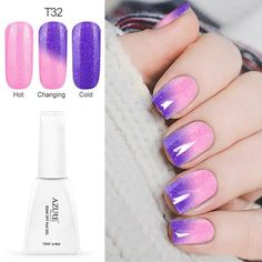 Azure Beauty LED Gel UV Color Temperature Change Gel Nail Polish Long-lasting Nail Gel New Arrival Hot Sale Gel Polish