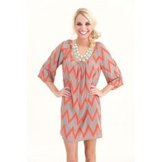 An Afternoon With You-Hot Coral - $64.00