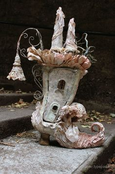 Fantasy | Whimsical | Strange | Mythical | Creative | Creatures | Dolls | Sculptures | wonderland boots
