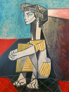 1896 Pablo Picasso (Spanish artist, Portrait of the Artist's Mother. Pablo Picasso, one of the dominant & most influential . Kunst Picasso, Art Picasso, Picasso Paintings, Oil Paintings, Indian Paintings, Abstract Paintings, Landscape Paintings, Picasso Guernica, Paintings Famous