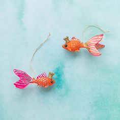Happy Fish Ornaments