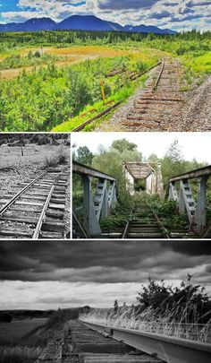 Abandoned Railways, Trains, Stations, Tunnels & Bridges | Urban Ghosts |