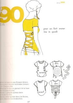 Goth Style 362962051196955978 - tutorial… ish — corset back shirt — no sew Source by Muguettte Diy Clothes Refashion, Do It Yourself Fashion, Diy Vetement, Custom T Shirt Printing, Diy Tops, Creation Couture, Upcycled Crafts, Clothing Hacks, T Shirt Diy
