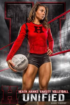 True Grit Volleyball Background spotlights court side athletic composite artistry in Full-Res Layered PSD Background from Double Diamond Award Winner Richard Sturdevant. Volleyball Poses, Volleyball Senior Pictures, Female Volleyball Players, Volleyball Shorts, Women Volleyball, Soccer Poses, Volleyball Images, Volleyball Setter, Softball Pictures