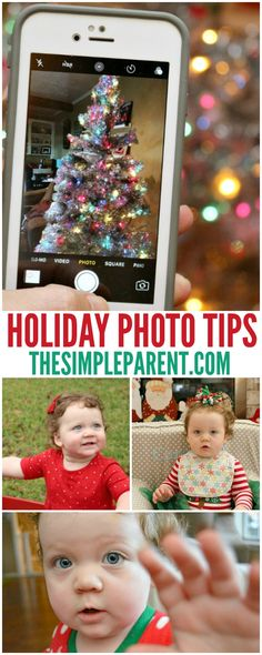 Learn how to take good holiday photos with your phone! These easy phone photography tips will help you capture holiday memories! These photography tips are part of my partnership with SanDisk! #backupandcharge #ixpandbase #ad