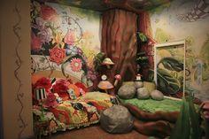 Alice in Wonderland mural!