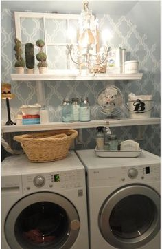 Cindy, I Need To Make Our Laundry Room Look Cool Like This!