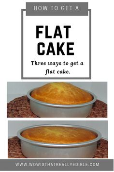 Three simple ways to get a flat cake layer every time & Wow! Custom Cakes+ Cake Decorating Tutorials Flat Top Cake& more cake humps learn three simple ways to get a flat cake Cake Decorating For Beginners, Easy Cake Decorating, Cake Decorating Techniques, Cake Decorating Tutorials, Cake Icing Techniques, Baking For Beginners, Frosting Techniques, Birthday Cake Decorating, Decorating Ideas