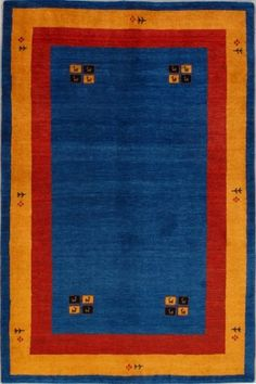 Multi Superb Gabbeh Wool Rug GB-24 $600.00