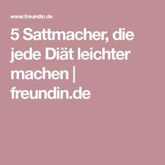 5 Sattmacher, die jede Diät leichter machen | freundin.de