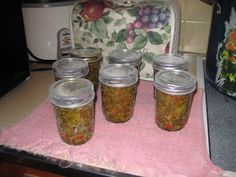 The Frugal Mennonite: Canning Sweet Pickle Relish