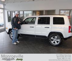 Happy Anniversary to Timothy Bodnar on your 2013 #Jeep #Patriot from Richard Stevens III and everyone at Monroeville Chrysler Jeep! #Anniversary