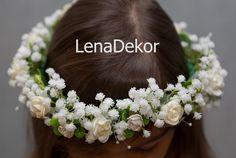 Head Wreaths, Frock Dress, Communion, Bellisima, Frocks, Jewelry Accessories, Bouquet, Crown, Weddings