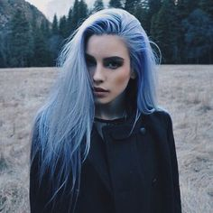 Ophelia has been in Azkaban her whole like till a man with a large gr… #fanfiction #Fanfiction #amreading #books #wattpad Rock Hairstyles, Pretty Hairstyles, Scene Hairstyles, Lilac Hair, Pastel Lavender Hair, Purple Lilac, Gray Hair, White Hair, Coloured Hair