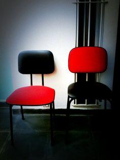 Cadeiras vintage Concepção e execução Zeca do @Retrozaria Art Cliente: Escola São Paulo