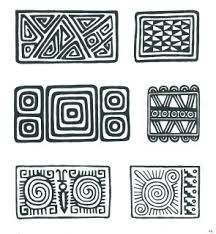 Sampling of Pre-Colombian Incan Symbols Arte Tribal, Aztec Art, Inca Art, Aztec Symbols, Colombian Art, Art Rupestre, Motifs Textiles, Ethnic Patterns, Indigenous Art