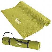 Pure Fitness Yoga Mat Limey Yellow | Shop all of your fitness needs at Walgreens.com.