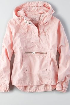 Pastel pink spring pull over