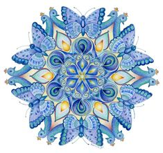 Mandala's tekenen met Hannie de JongPicture 55 « | Mandala's