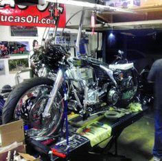 Mob garage built