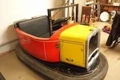 Winnie & Tulula's Antique Mall - Vintage Bumper Car!!  I have no idea what I would do with this, but I love it!!