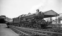 """5089 """"Westminster Abbey"""" GWR Castle 4-6-0"""