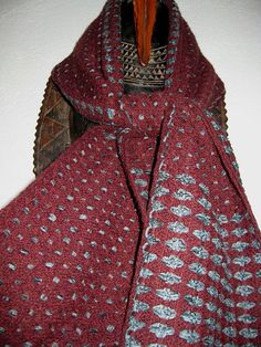 20 REDUCTION  Handwoven  Scarf for Men  Wool and by tisserande, $120.00