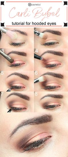 I created an easy 8 step tutorial with the BH Cosmetics Carli Bybel Deluxe Palette. This is a beautiful palette with 15 eyeshadows and 6 highlighters.
