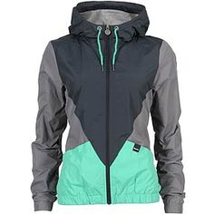 light rain jacket. color blocking