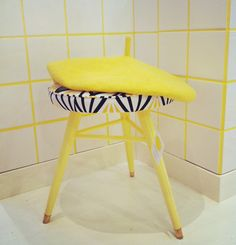 recycled old chair by Mimmi Staaf