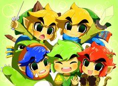 The Legend of Zelda: Tri force Heroes, Monster Hunter, and Hyrule Warriors Legends / Link, Link, and Link!