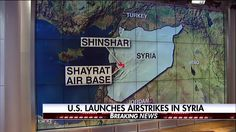 Breaking News Update: President Donald J. Trump says the airstrikes conducted in Syria were in the `vital national security interest' of the United States, and calls on `civilized nations' to join `seeking to end the slaughter and bloodshed in Syria.'   BREAKING NEWS: The U.S. launches more than 40 Tomahawk cruise missiles against one military airfield in Syria following a chemical weapons attack Tuesday that left nearly 70 dead. http://fxn.ws/2oPbnwd