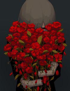 愛されたい I want to be loved Sad Anime, Anime Love, Anime Art, Dark Art Illustrations, Illustration Art, Desenhos Halloween, Sun Projects, Vent Art, Ange Demon